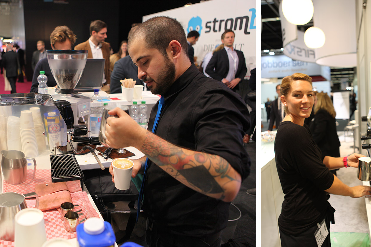 Baristas bei Catering Event
